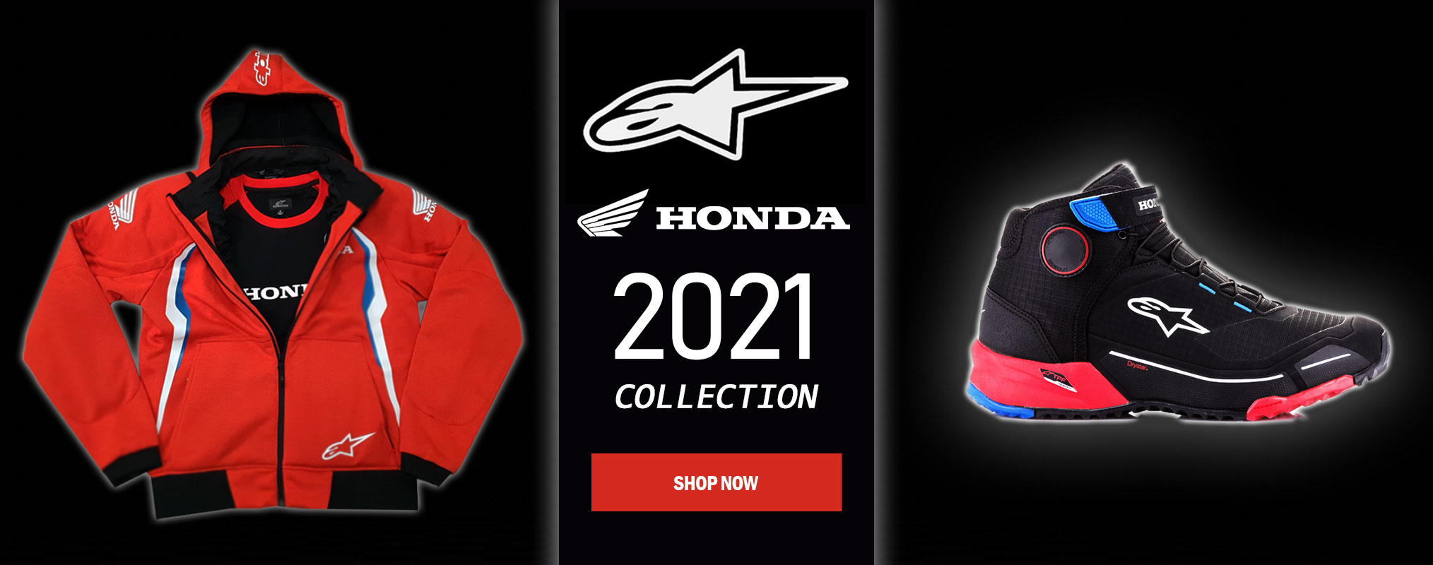 Alpinestars Honda collection