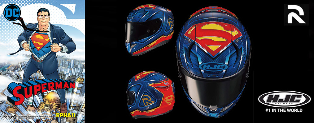 Hjc Rpha 11 Superman Dc Comics