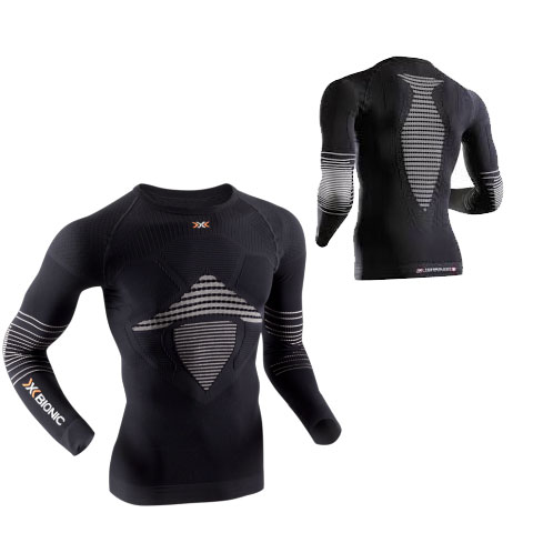 X-bionic Bionic Energizer™ Mk2 Shirt Long Sleeves Black Grey
