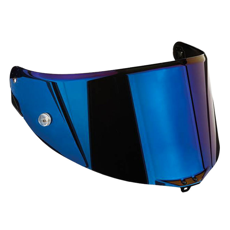 agv race 3 iridium blue visor with pinlock system motostorm. Black Bedroom Furniture Sets. Home Design Ideas
