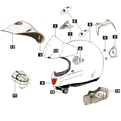 Arai Tour-x 3 Chin Guard Vent
