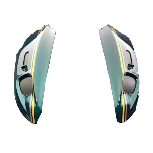 Diffuser Arai Rx7-v/sz Ram X Cafè Racer Verde