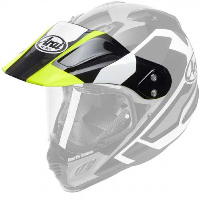 Arai Tour X-4 Catch Yellow Peak