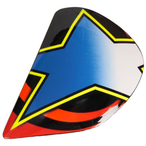 Arai Side Pods - J Type - Rx-7 Gp Colin Edwards Replica Replica