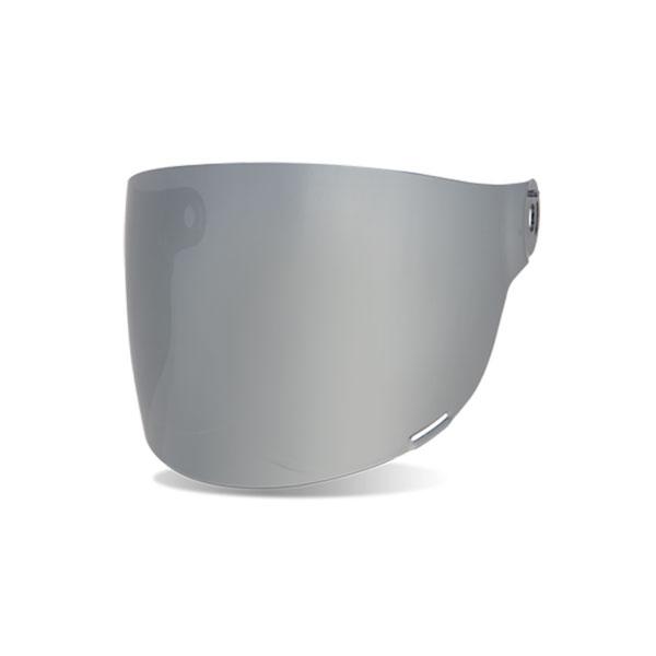 Bell Bullitt Iridium Silver Flat Visor