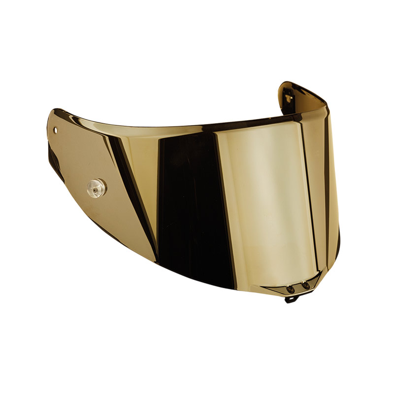 Visor Race 2 Antiscratch Iridium Gold For Agv Helmets