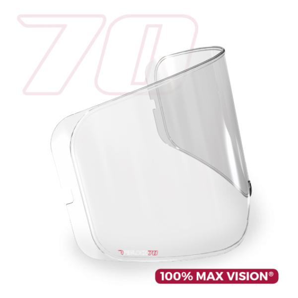Simpson Pinlock Max Vision Lens für Helme Venom