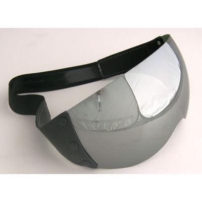 Project Helmet Visor Mirror For Black Racer