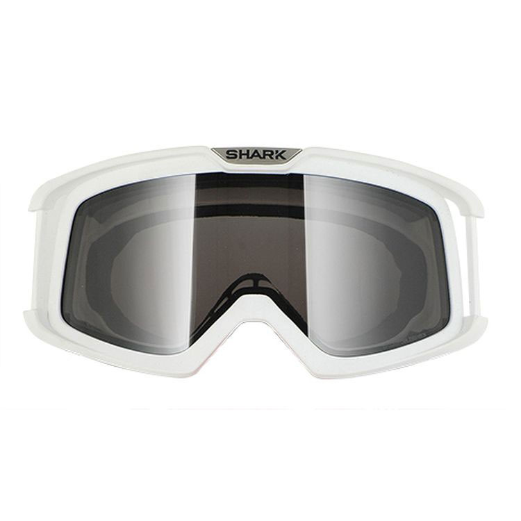 Shark Raw Goggle Frames White
