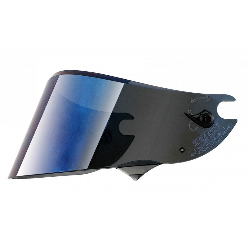 Shark Iriudium Blue Visor For Race-r Pro/ Speed-r