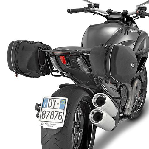 Givi Te7405 Tubular Holder For Easylock Panniers Ducati Diavel 1200