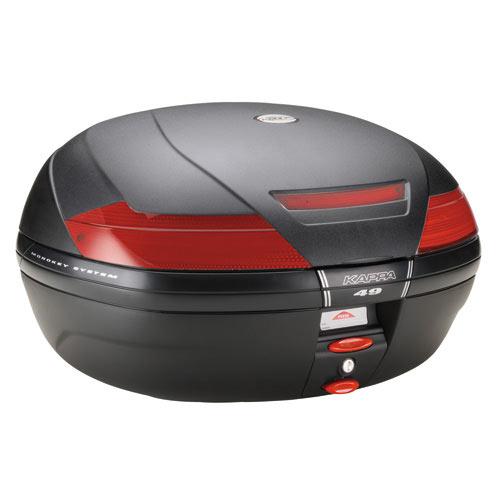 kappa top box monokey system k49 motostorm. Black Bedroom Furniture Sets. Home Design Ideas