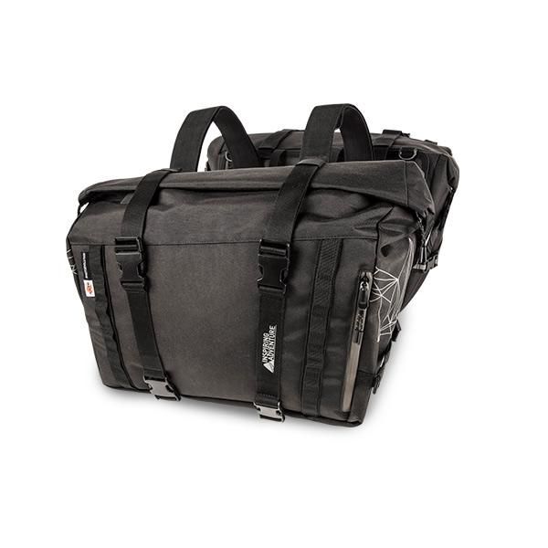 Kappa Seitentaschen RA316 schwarz