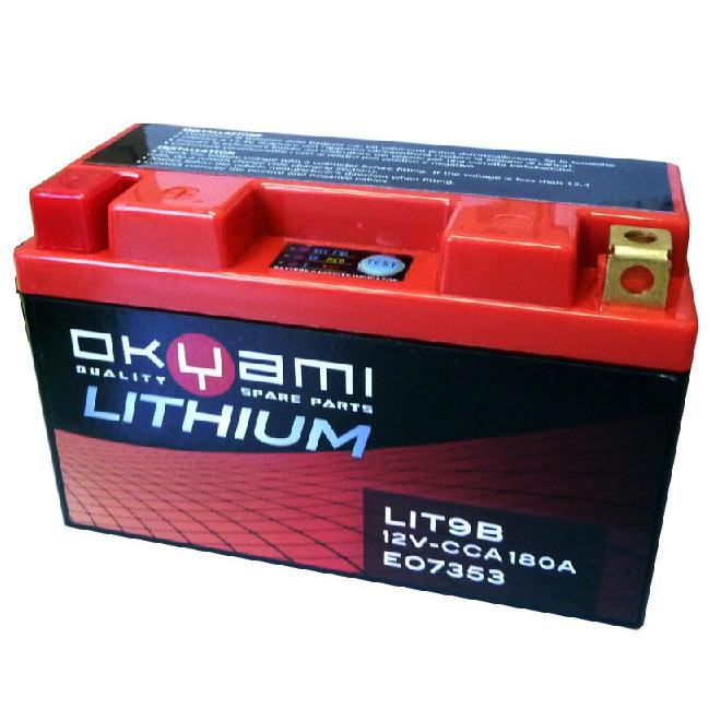 Okyami Battery Lithium Litx9