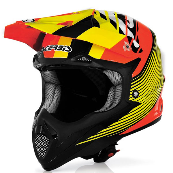 Acerbis Impact Wishmaster orange-gelb