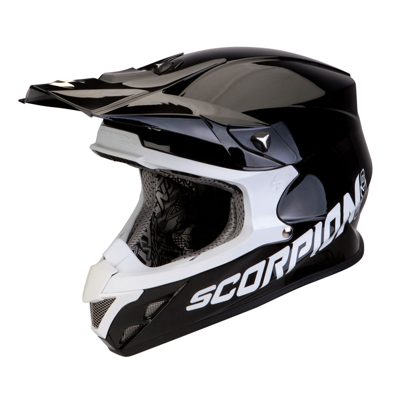 scorpion vx 20 air solid black motostorm. Black Bedroom Furniture Sets. Home Design Ideas