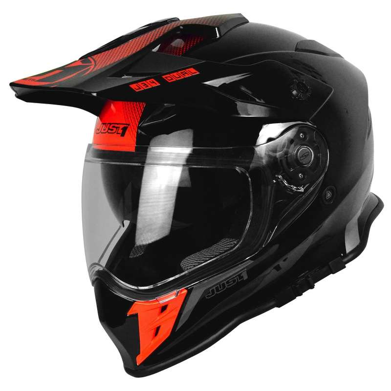 6736f9ef Just-1 J34 Shape Neon Red JO6073310171001 Full Face Helmets | MotoStorm