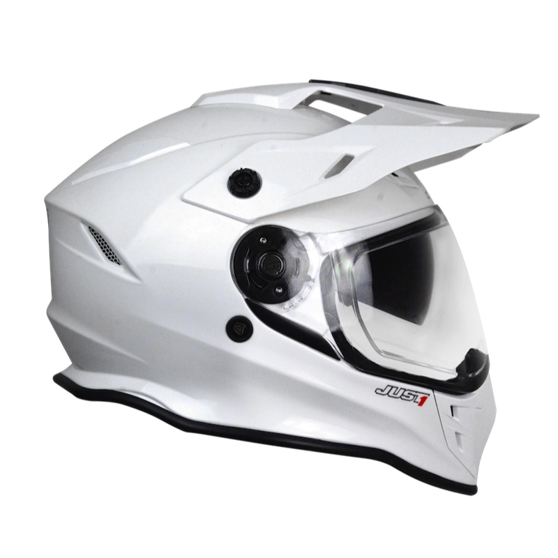 801d8862 Just-1 J34 Solid White JO6073310181000 Full Face Helmets | MotoStorm