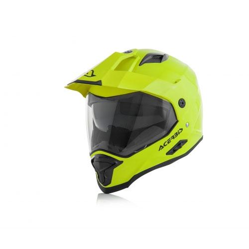 Acerbis Reactive Gelb Helm 2018
