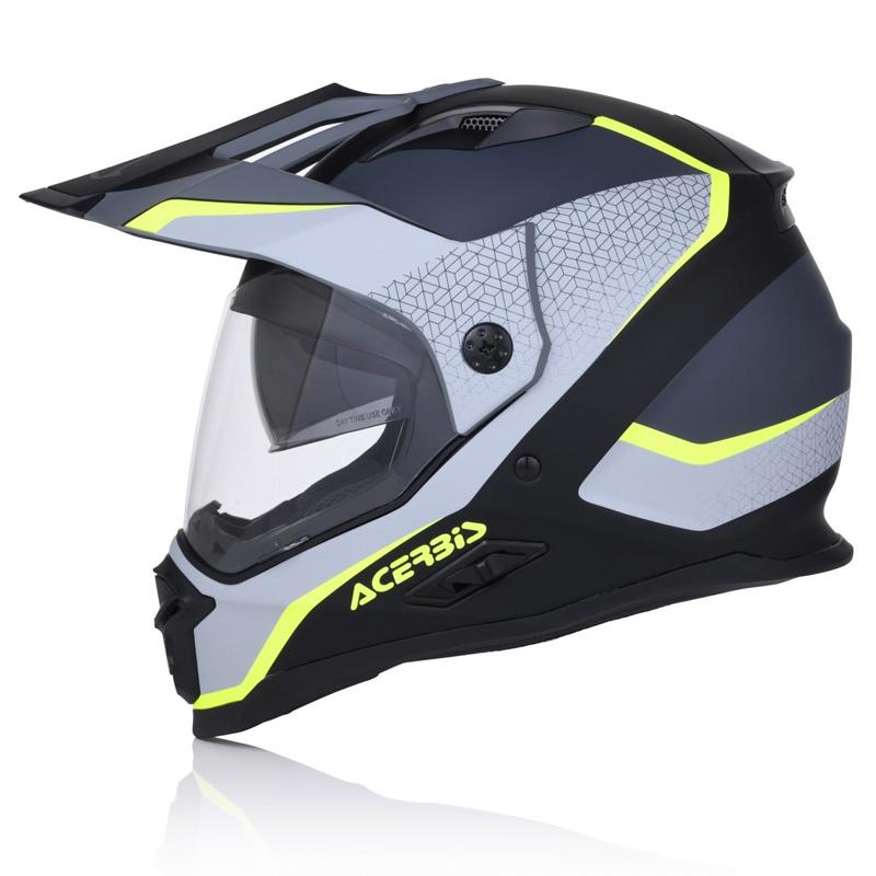 Acerbis casco reactive graffix nero//grigio xs