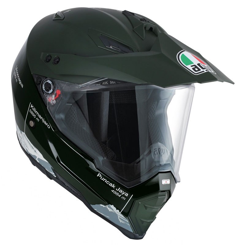 agv ax 8 dual evo wild frontier military green motostorm. Black Bedroom Furniture Sets. Home Design Ideas