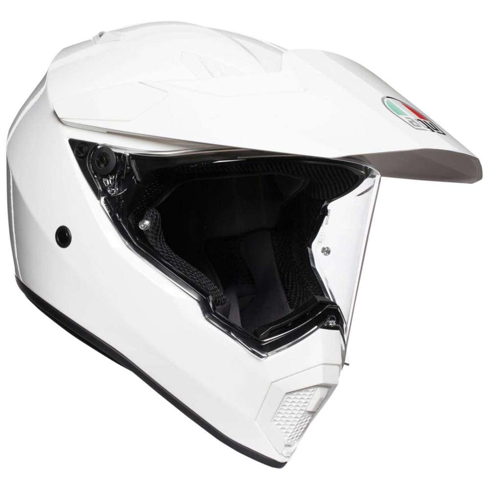 AGV AX9 Mono Helm weiß
