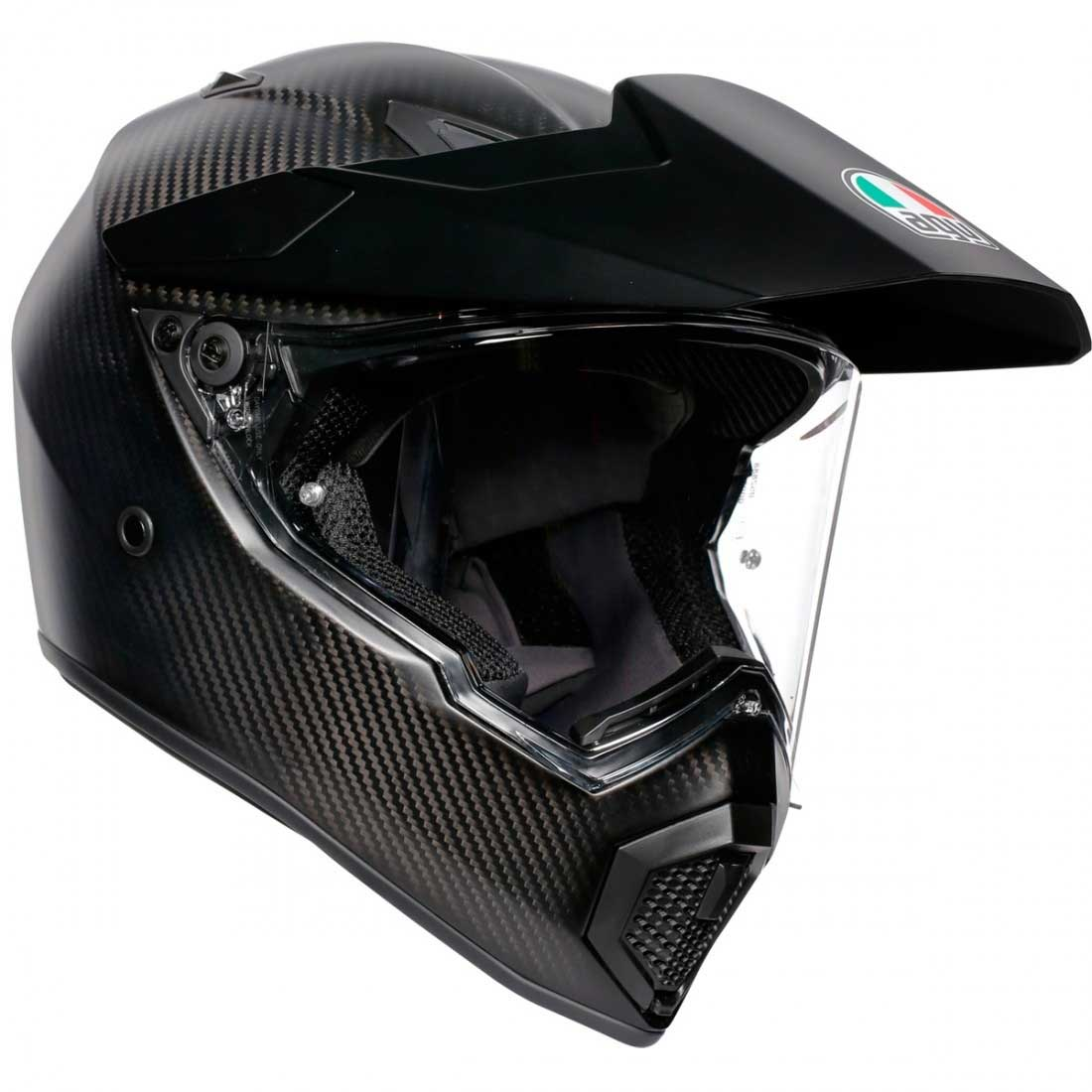 AGV AX9 Helm matt Carbon