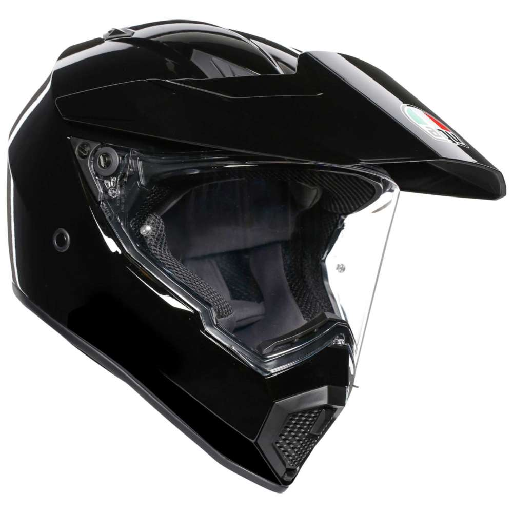 AGV AX9 Mono Helm schwarz