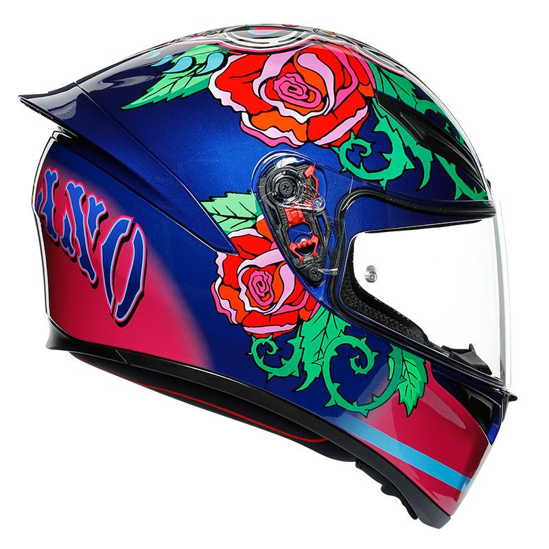 Agv K1 Replica Salom Helmet Ag 0281a1i0 006 Full Face Helmets Motostorm