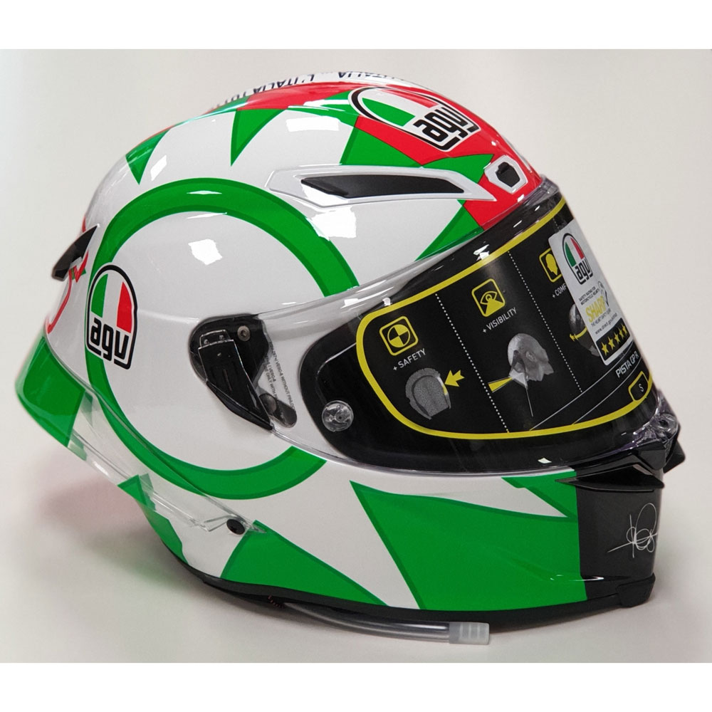 5073e9bf Agv Pista Gp R Limited Edition Rossi Mugello 2018 6021A9HY-009 Full ...