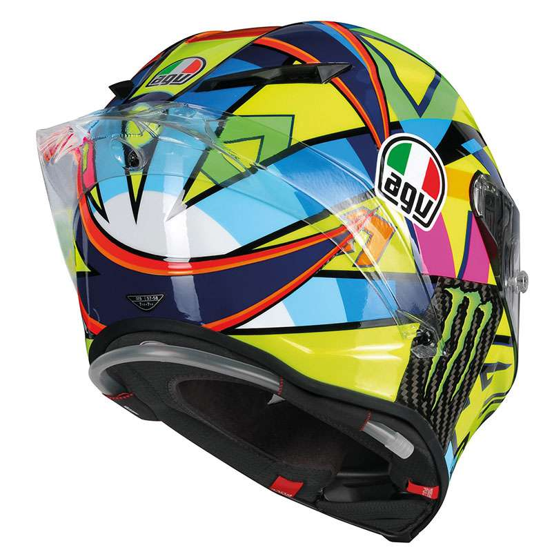 agv pista gp r rossi soleluna 2016 helmet ag 6021a0hm 001 full face helmets motostorm. Black Bedroom Furniture Sets. Home Design Ideas