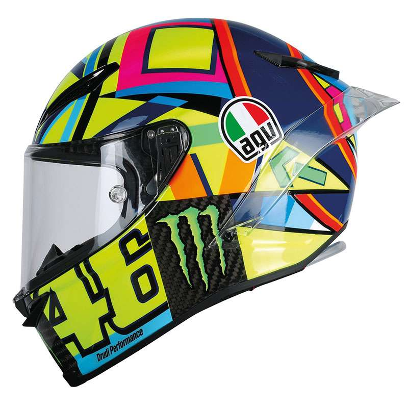 agv pista gp r rossi soleluna 2016 helmet ag 6021a0hm 001. Black Bedroom Furniture Sets. Home Design Ideas
