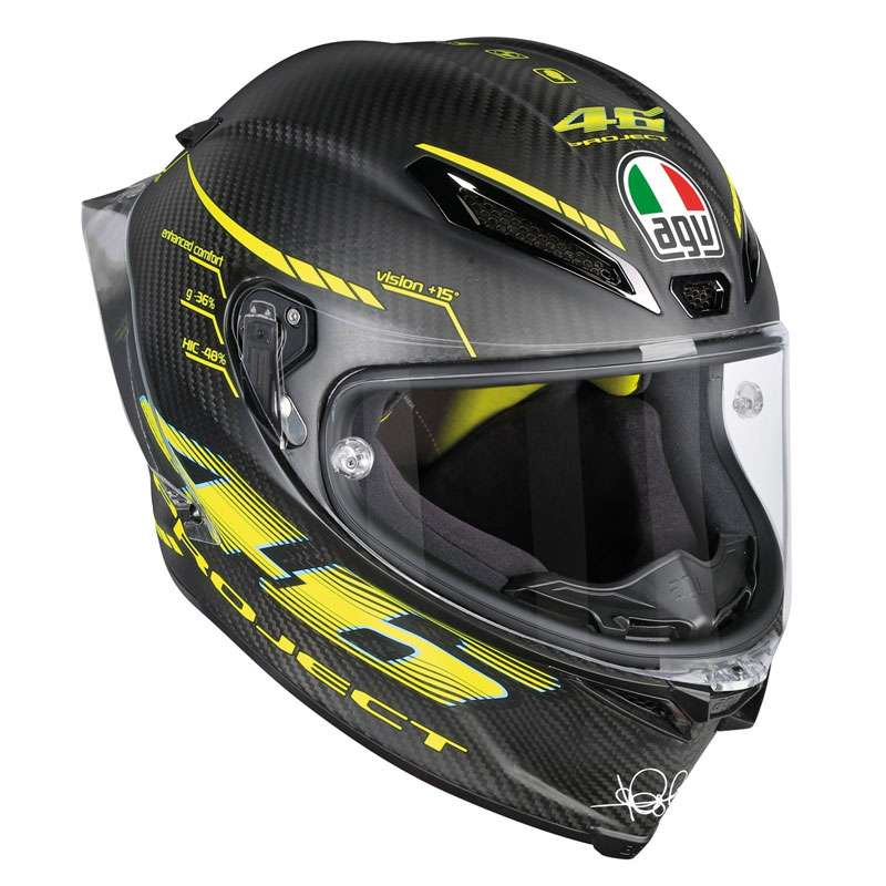 bcbb224b Agv Pista Gp R Project46 2.0 - Matt Carbon AG-6021A0HY-002 Full Face ...