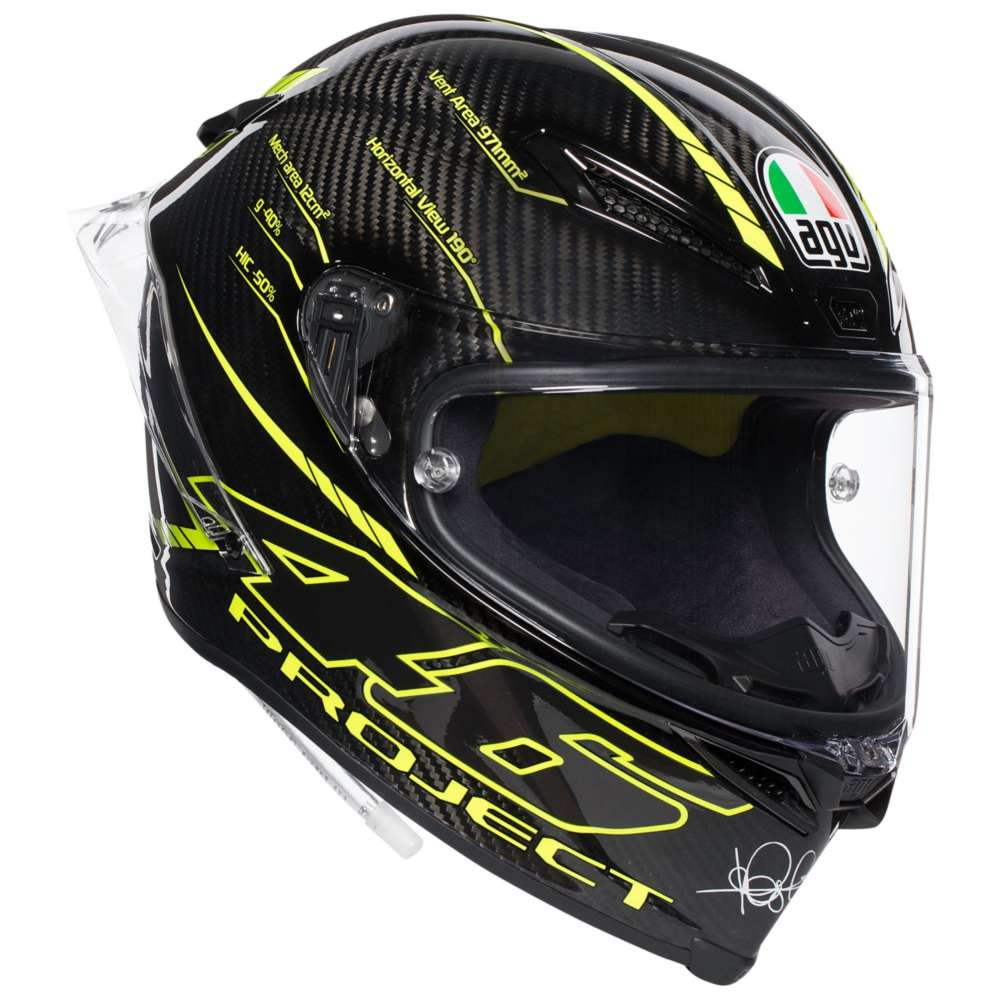 agv pista gp r project 46 3 0 helmet ag 6021a0hy 004 full face helmets motostorm. Black Bedroom Furniture Sets. Home Design Ideas