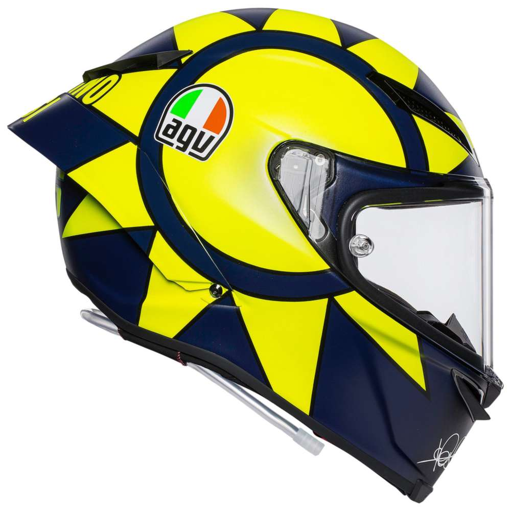 agv pista gp r soleluna 2018 valentino rossi ag 6021a0hy. Black Bedroom Furniture Sets. Home Design Ideas