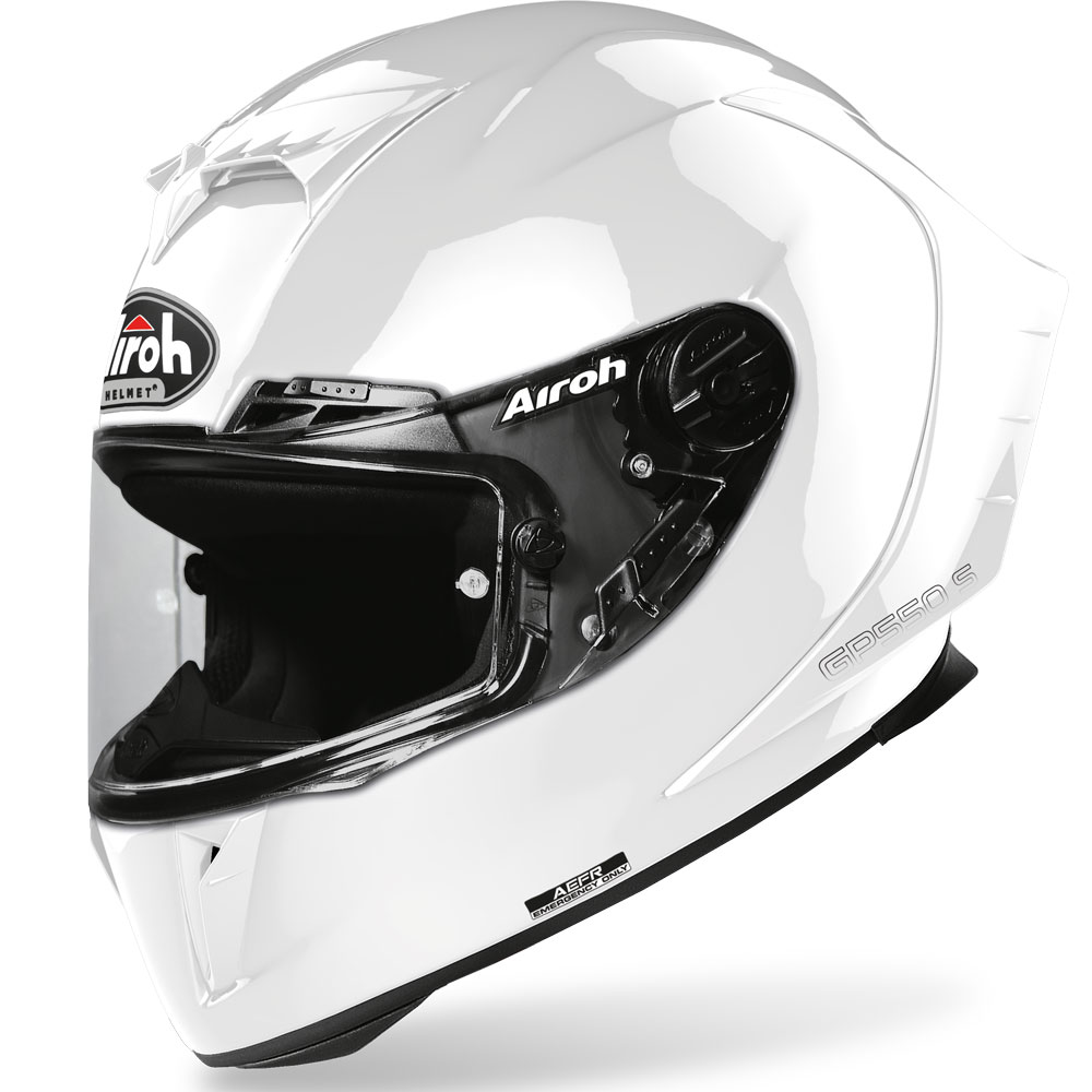 Airoh Gp 550 S Color Bianco Lucido
