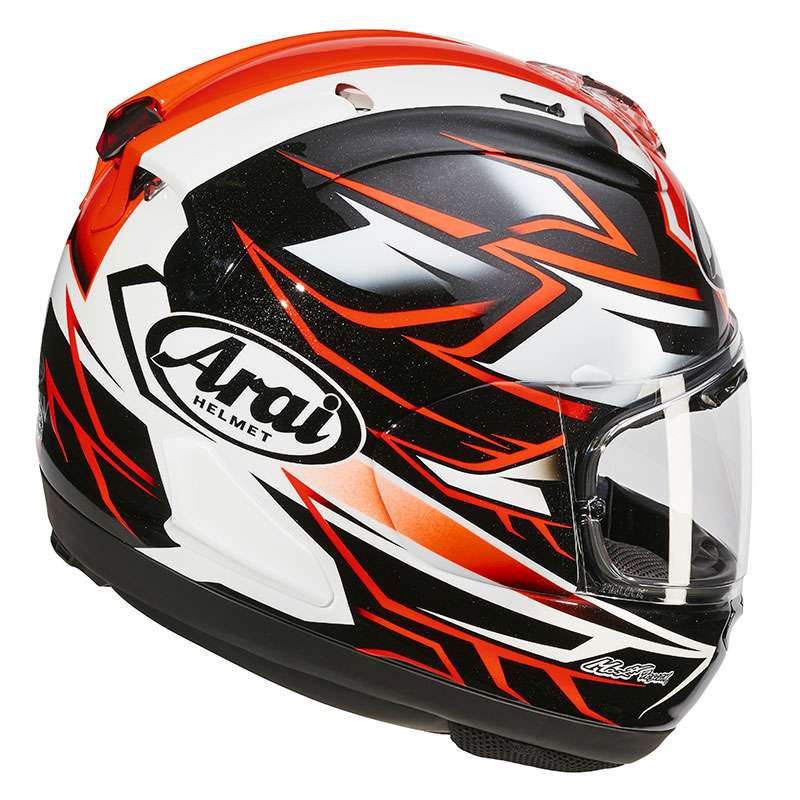 arai rx 7v ghost red motostorm. Black Bedroom Furniture Sets. Home Design Ideas