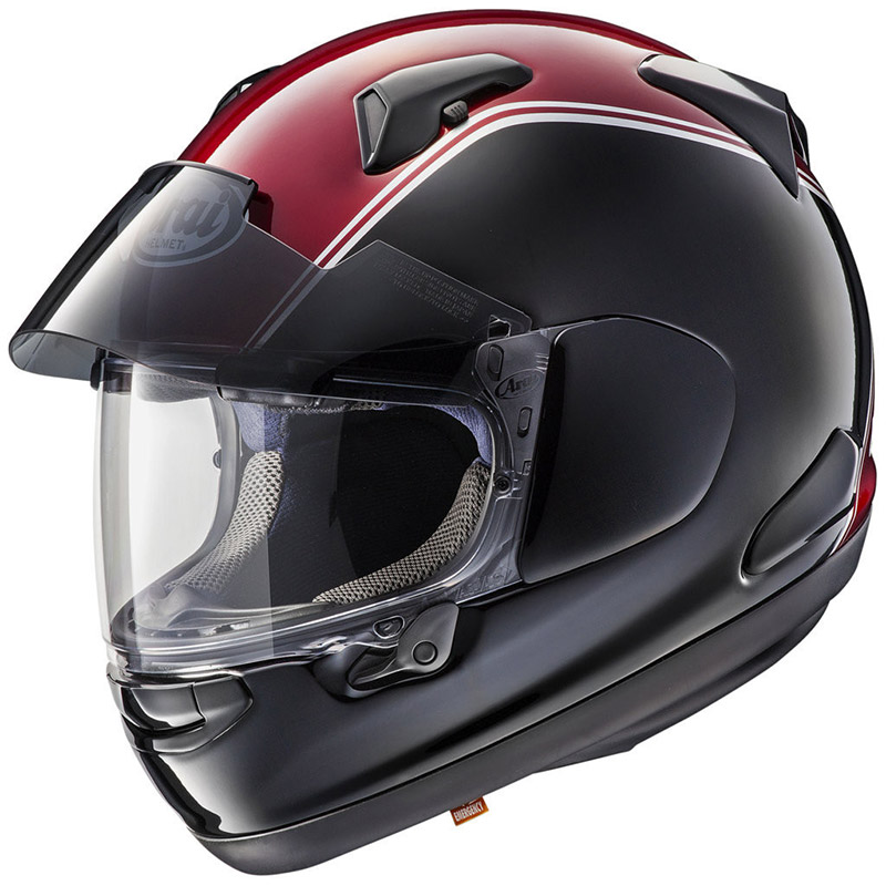 Casco Arai Qv Pro Honda Goldwing Rosso