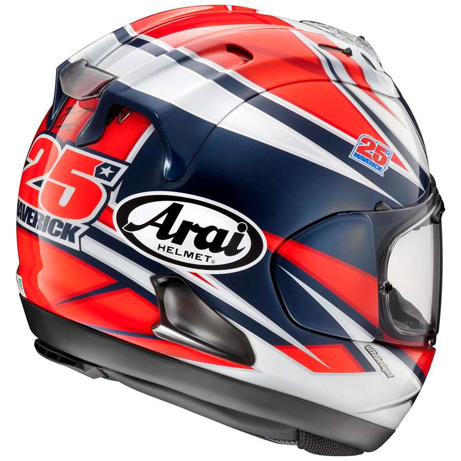 arai rx 7v maverick vinales motostorm. Black Bedroom Furniture Sets. Home Design Ideas