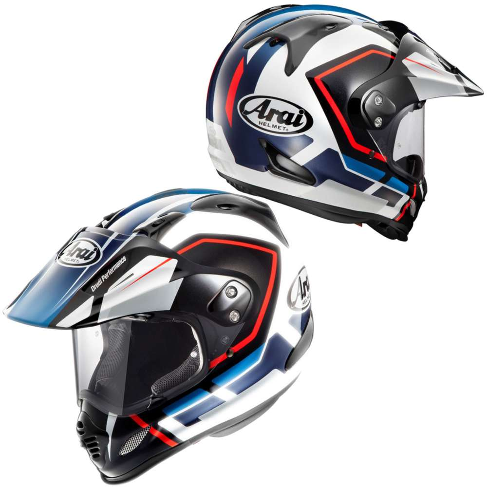 arai tour x 4 detour blue motostorm. Black Bedroom Furniture Sets. Home Design Ideas