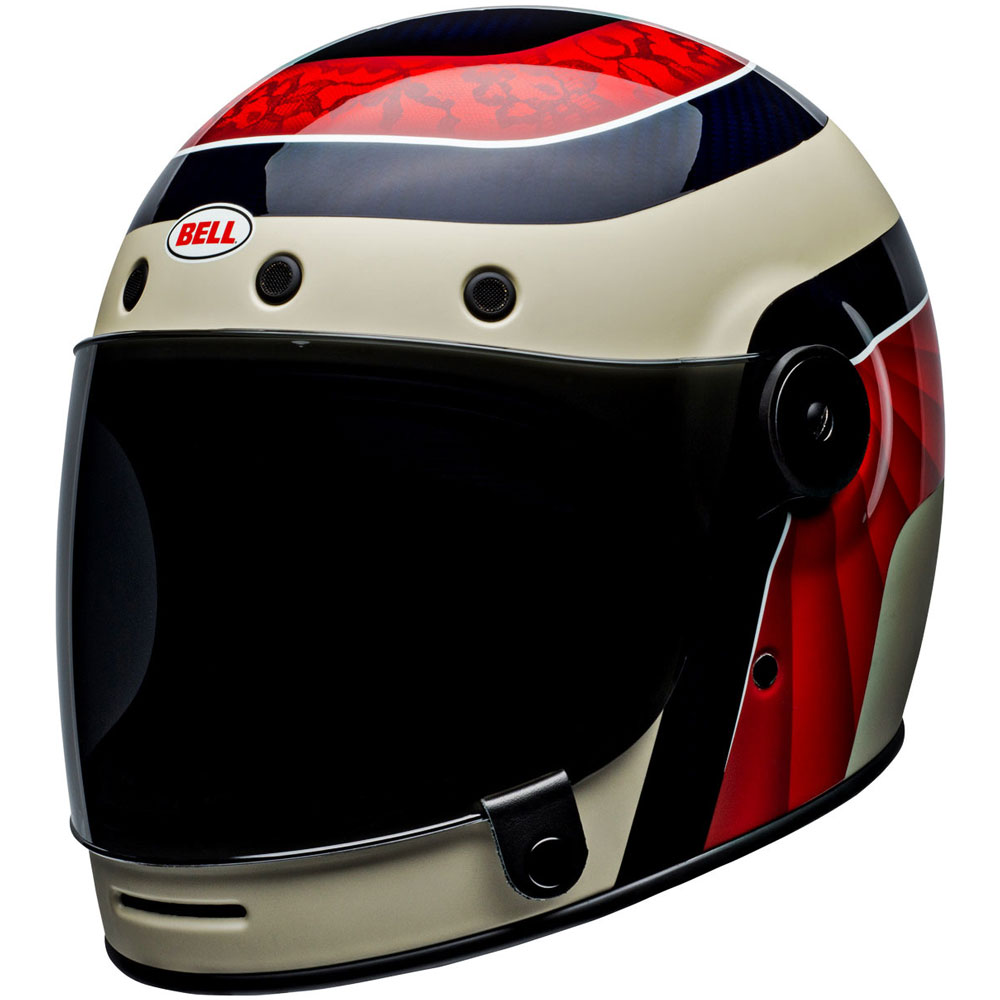 Bell Full Face Helmet >> Full Face Helmet Bell Bullitt Carbon Hustle Be 70988 Full Face