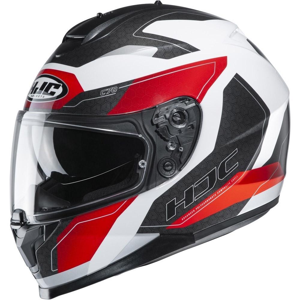 HJC C70 Canex Helm weiß rot