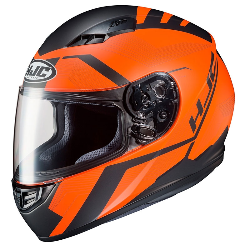 Casco Moto Hjc Cs-15 Faren Arancio