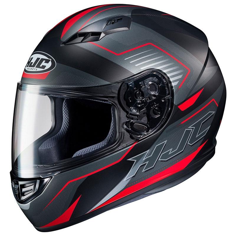 Casco Moto Hjc Cs-15 Trion Rosso