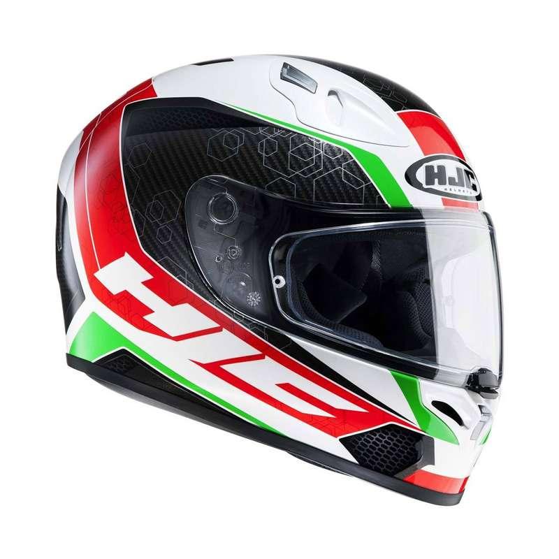 Hjc Fg 17 >> Hjc Fg 17 Ohama Red Green White Hjc 125701 Mc1 Full Face Helmets