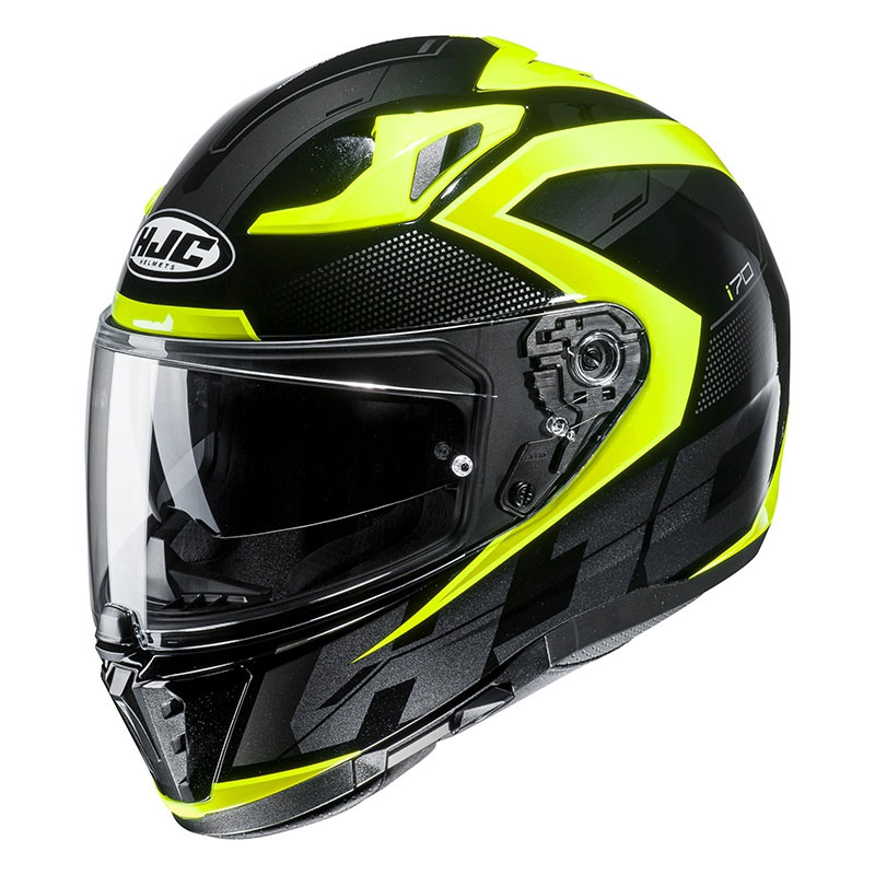 bf4b0738 Full Face Helmet Hjc I70 Asto Yellow HJC-149104-MC4H Full Face ...