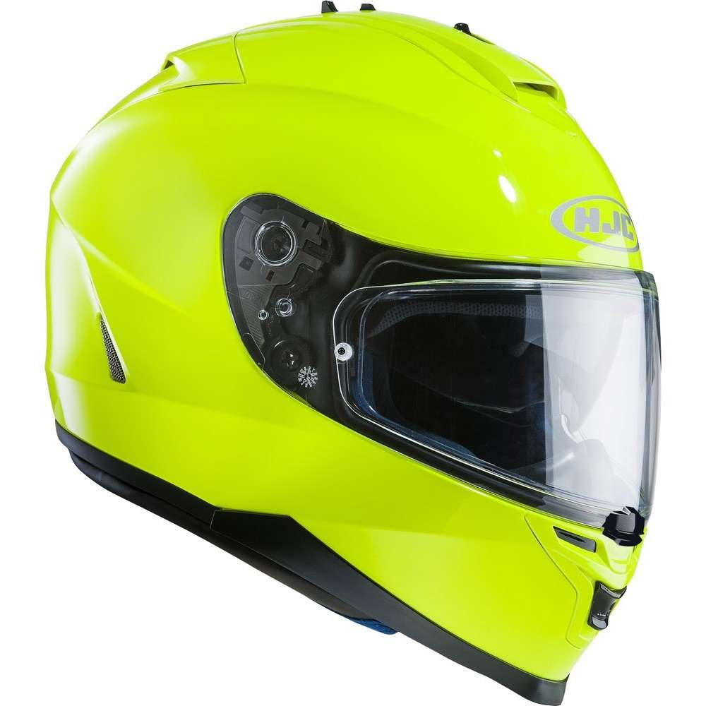 Hjc Is-17 Solid Giallo Fluo