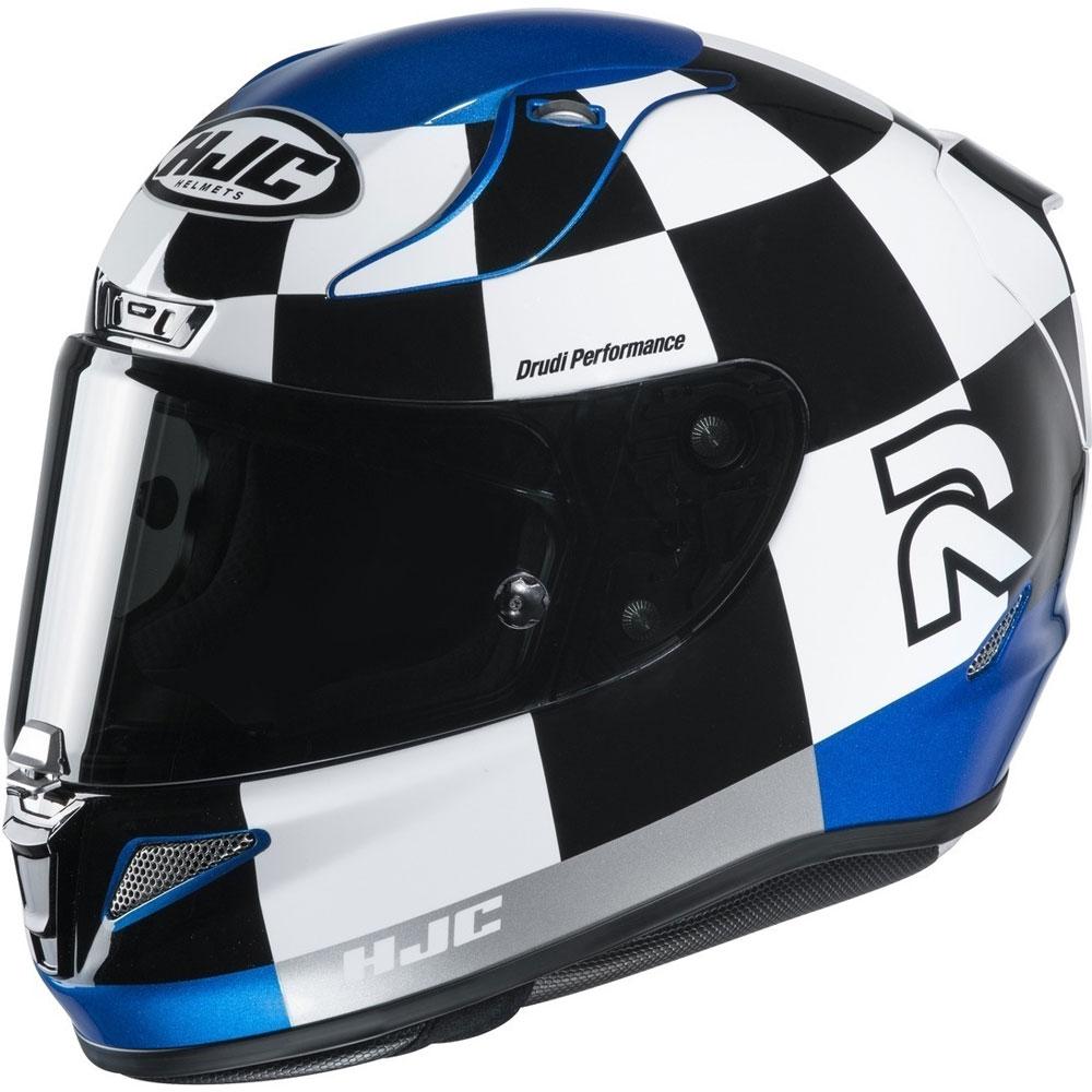 Casque Moto Hjc Rpha 11 Naxos Bleu M, Bleu