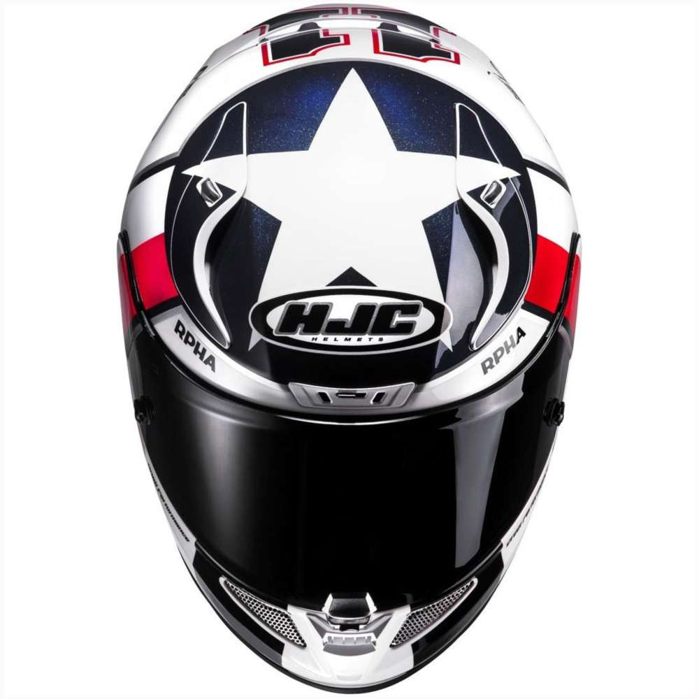 Hjc Rpha 11 Ben Spies Helmet Hjc 134001 Mc1 Full Face
