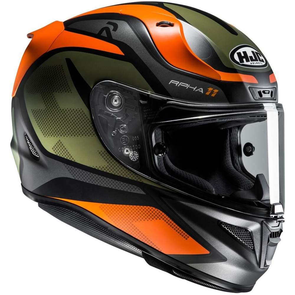 hjc rpha 11 deroka helmet orange hjc 135077 mc7sf full face helmets motostorm. Black Bedroom Furniture Sets. Home Design Ideas